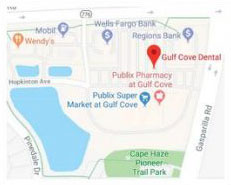 Gulf Cove Dental Location in Port Charlotte, Florida